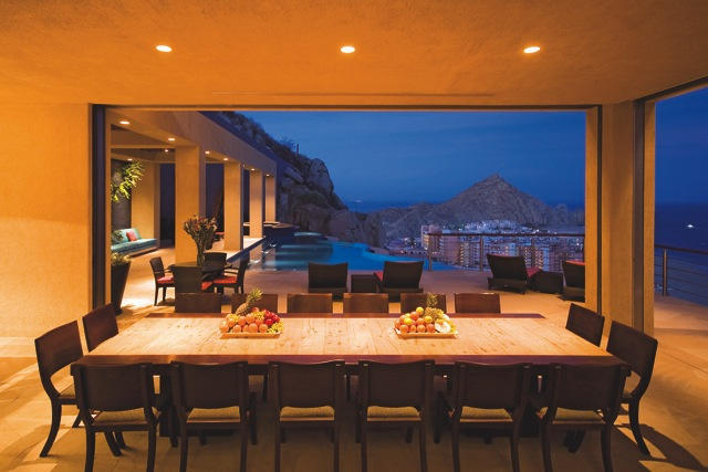 cabo mexico home arch view