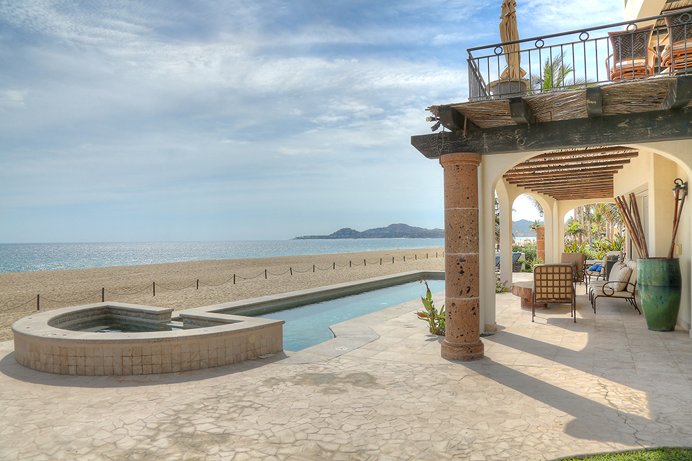 beachfront high rental income cabo